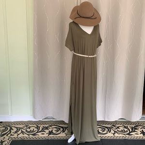NWT GC Collection Army Green POCKET Dress